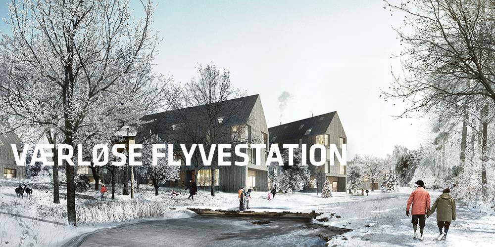 Tredje Natur laver masterplan og oplæg til lokalplan til Flyvestation Værløse - Sydlejren