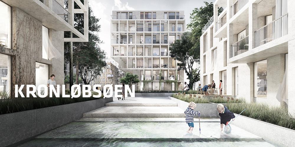 TREDJE NATUR makes a proposal for Kronløbsøen in Nordhavn
