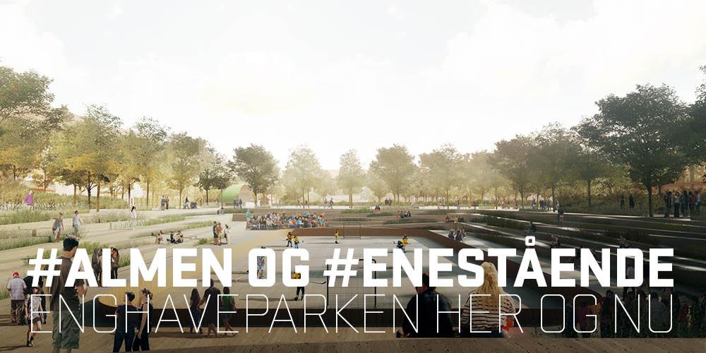 24.000 m3! TREDJE NATUR projekterer klimaparken Enghaveparken!