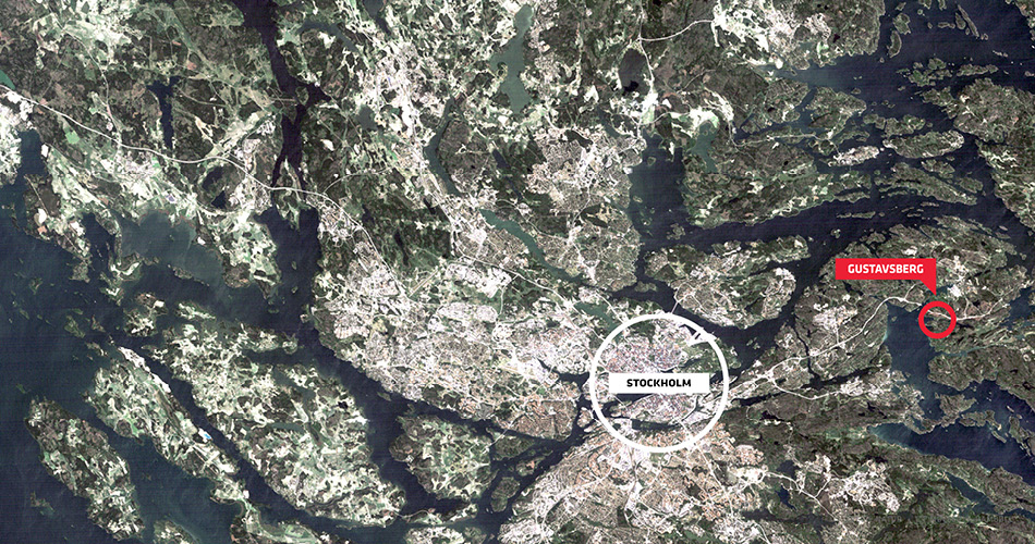 Gustavsberg Kort