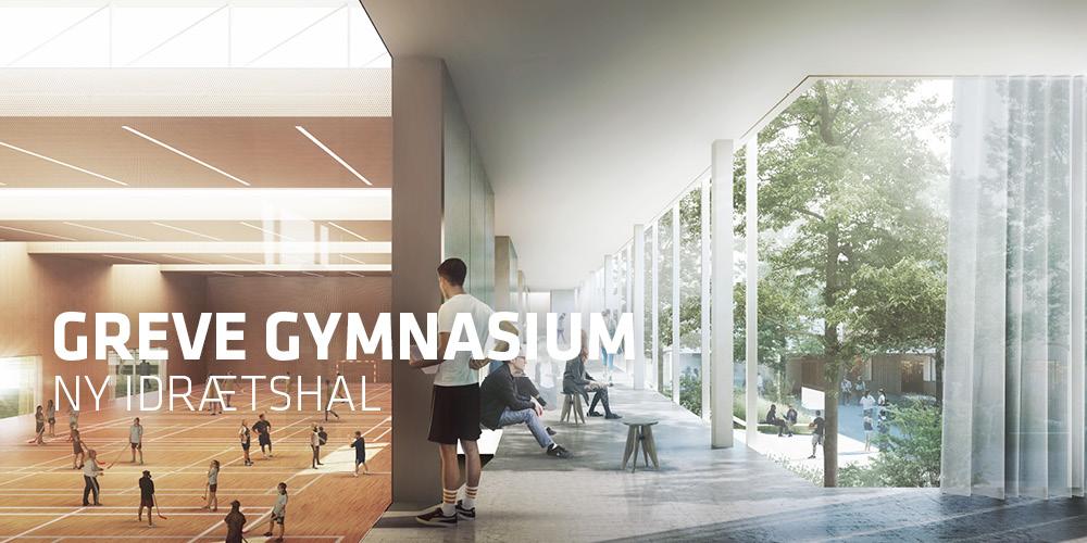TREDJE NATURs forslag til ny idrætshal ved Greve Gymnasium