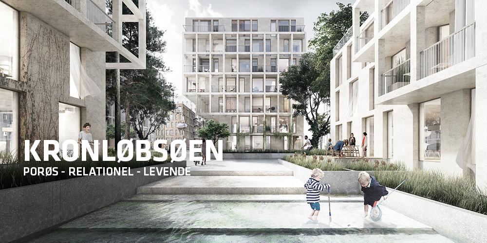 TREDJE NATUR tegner forslag til Kronløbsøen i Nordhavn