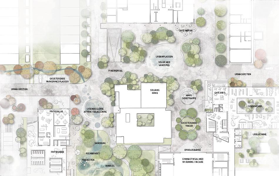 Plan Urbanpladsen
