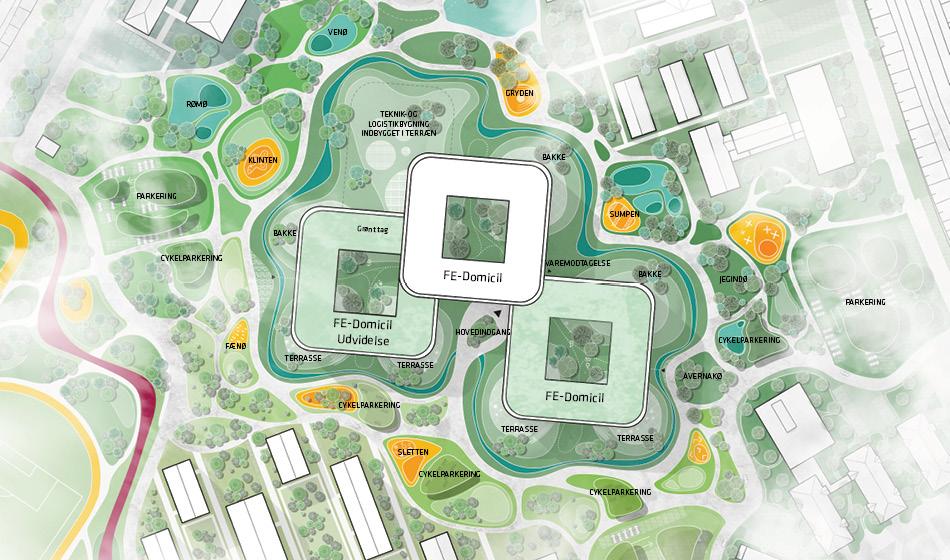 Plan over landskab