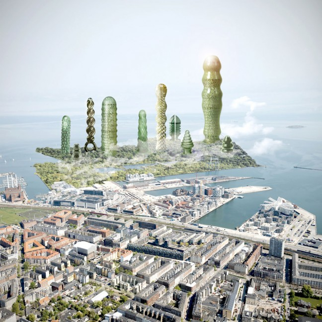 Korch-Towers-i-Nordhavnen